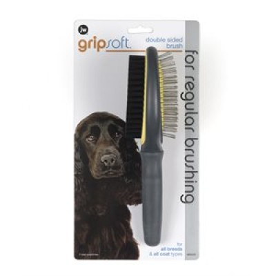 JW Pet - Brosse double Gripsoft