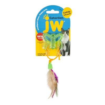 JW Pet - Jouet pour chat Cataction Papillon avec Queue