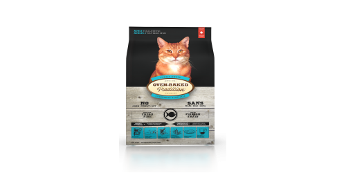 Oven-Baked Tradition Nourriture pour chat adulte au poisson 10 lbs
