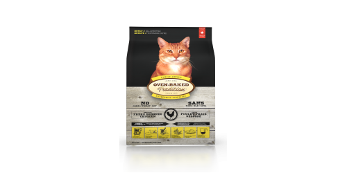 Oven-Baked Tradition Nourriture pour chat adulte au poulet 10 lbs