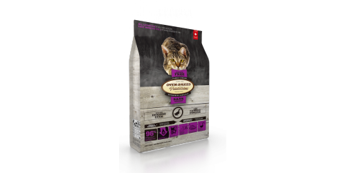 Oven-Baked Tradition Nourriture pour chat adulte au canard sans grains 5 lbs