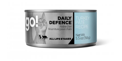 Petcurean - Go Natural - Nourriture humide à la dinde pour chat