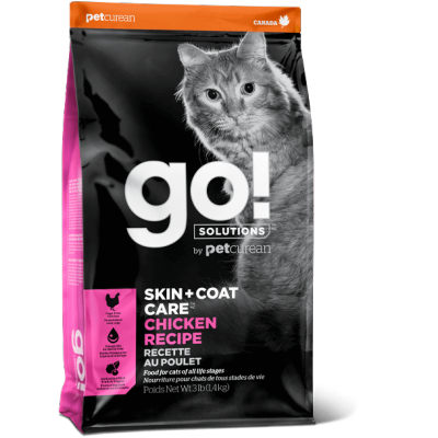 Petcurean - Go Natural - Nourriture pour chat au poulet 8 lbs
