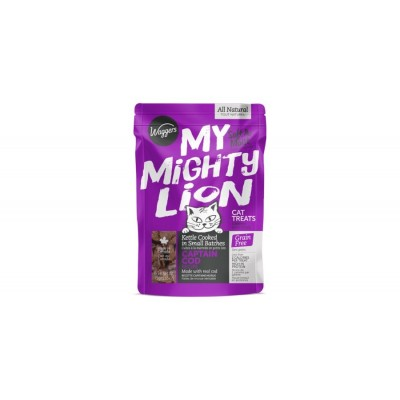 Waggers - Mighty Lion Gâterie Tendre sans grains à la Morue pour chat 2.65 oz